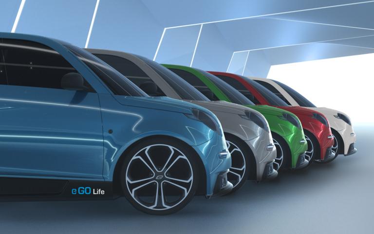 e.GO kommt 2018 mit sehr preiswertem Elektroauto für Städte auf den Markt