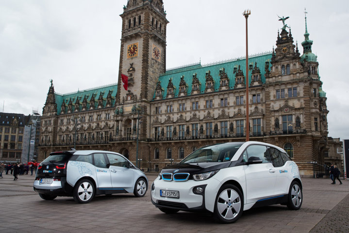BMW Group und Hamburg kündigen strategische Partnerschaft zum Aufbau eines flächendeckenden Angebots an Elektromobilität in Hamburg an
