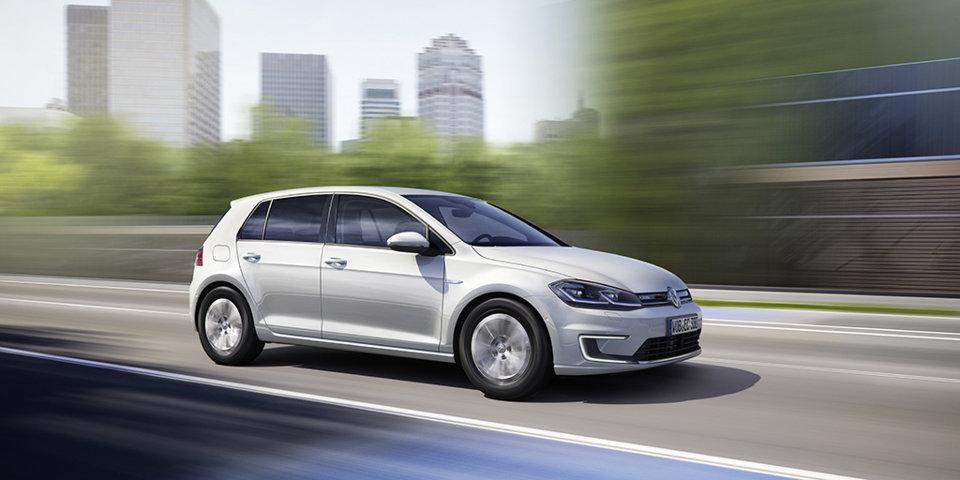 VW kommt mit neuem e-Golf mit reinem Elektroantrieb