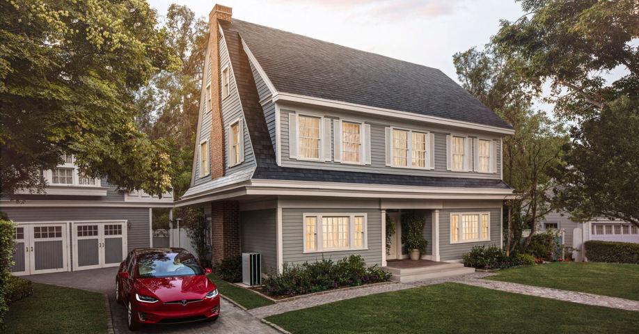 Tesla stellt ein Solar-Dach vor