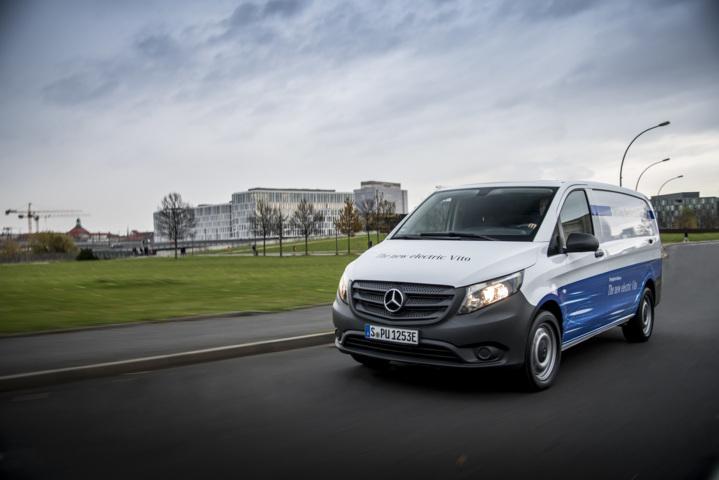 """Elektrischer Transporter von Mercedes-Benz """"eVito"""" ist bestellbar"""