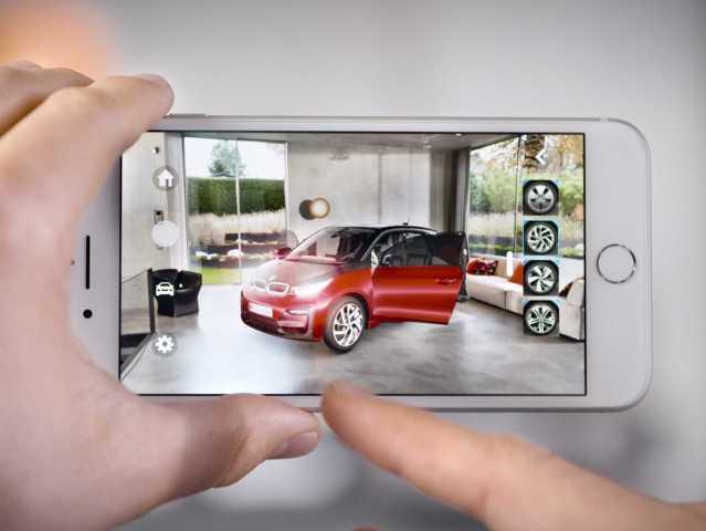 BMW i veröffentlicht eine Augmented-Reality App für iOS 11