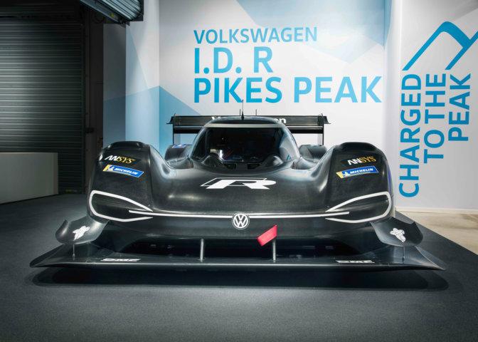 Volkswagen präsentiert den I.D. R Pikes Peak-Rennwagen