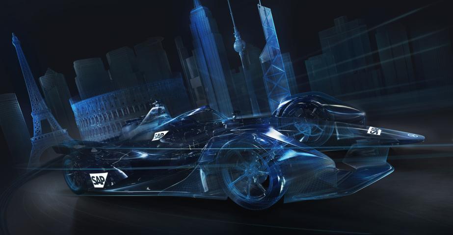 Mercedes EQ Formel E Team und SAP haben eine Zusammenarbeit angekündigt
