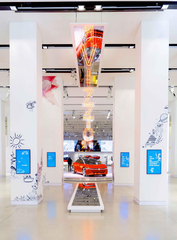 Volkswagen stellt den I.D. VIZZION in Berlin exklusiv aus