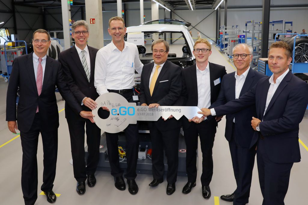 e.GO startet Produktion in Aachen