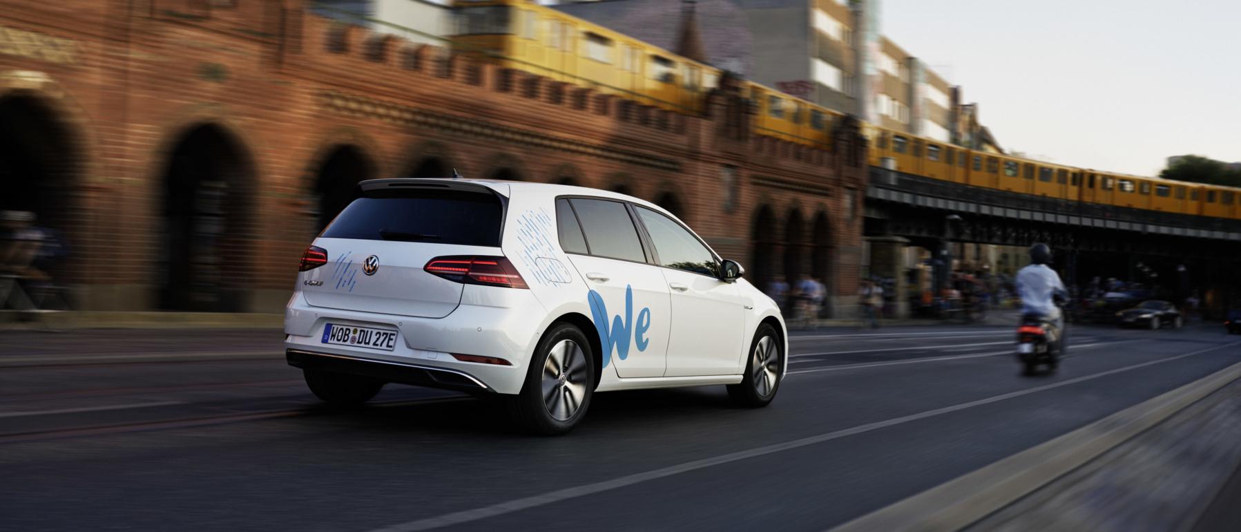 WeShare – Volkswagen E-Mobilitäts-Carsharing startet 2019 in Berlin