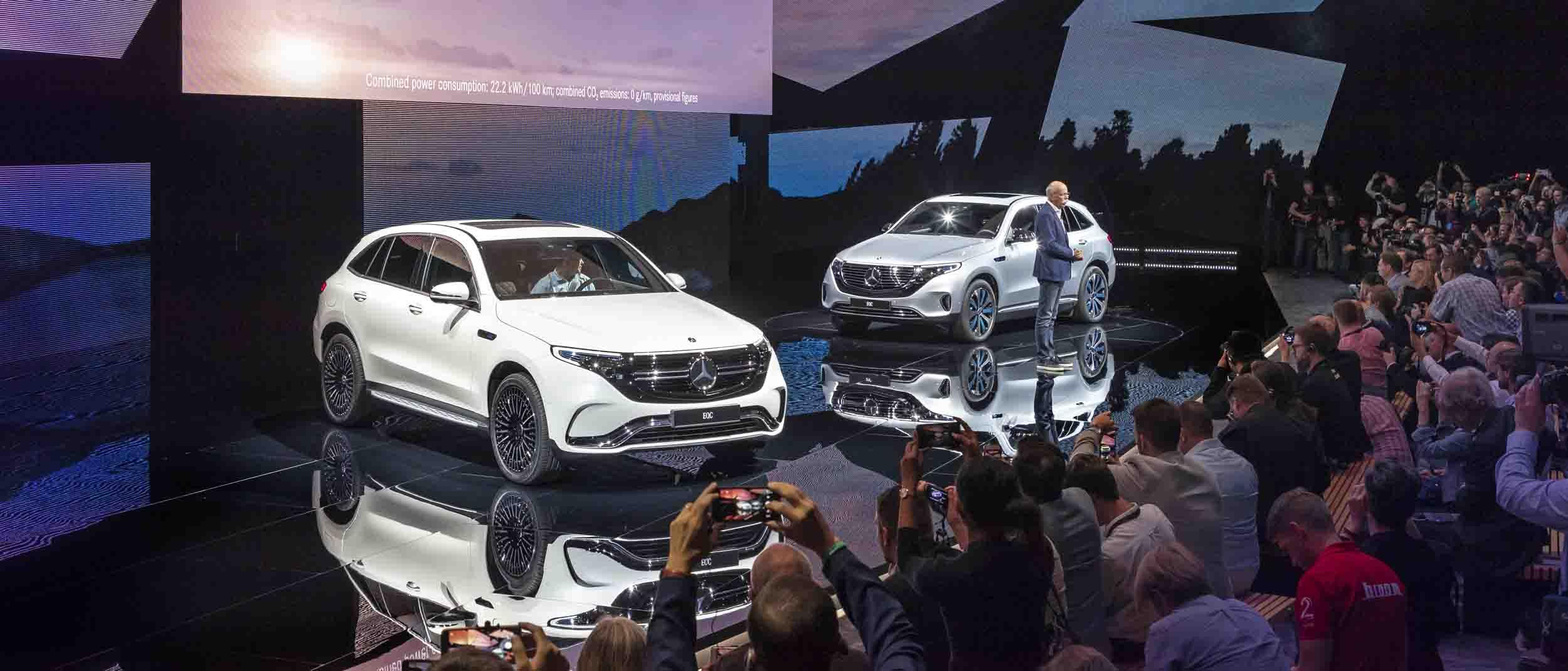 Mercedes präsentiert in Stockholm sein erstes Elektro-SUV