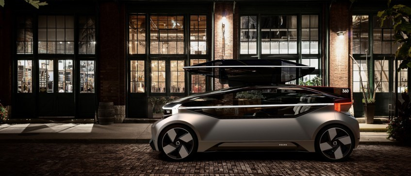 Volvo 360c Konzeptstudie mit vollautonomen Autos