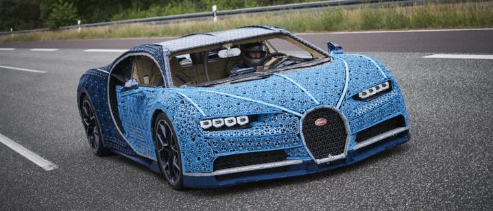 LEGO Bugatti Chiron mit Elektromotor