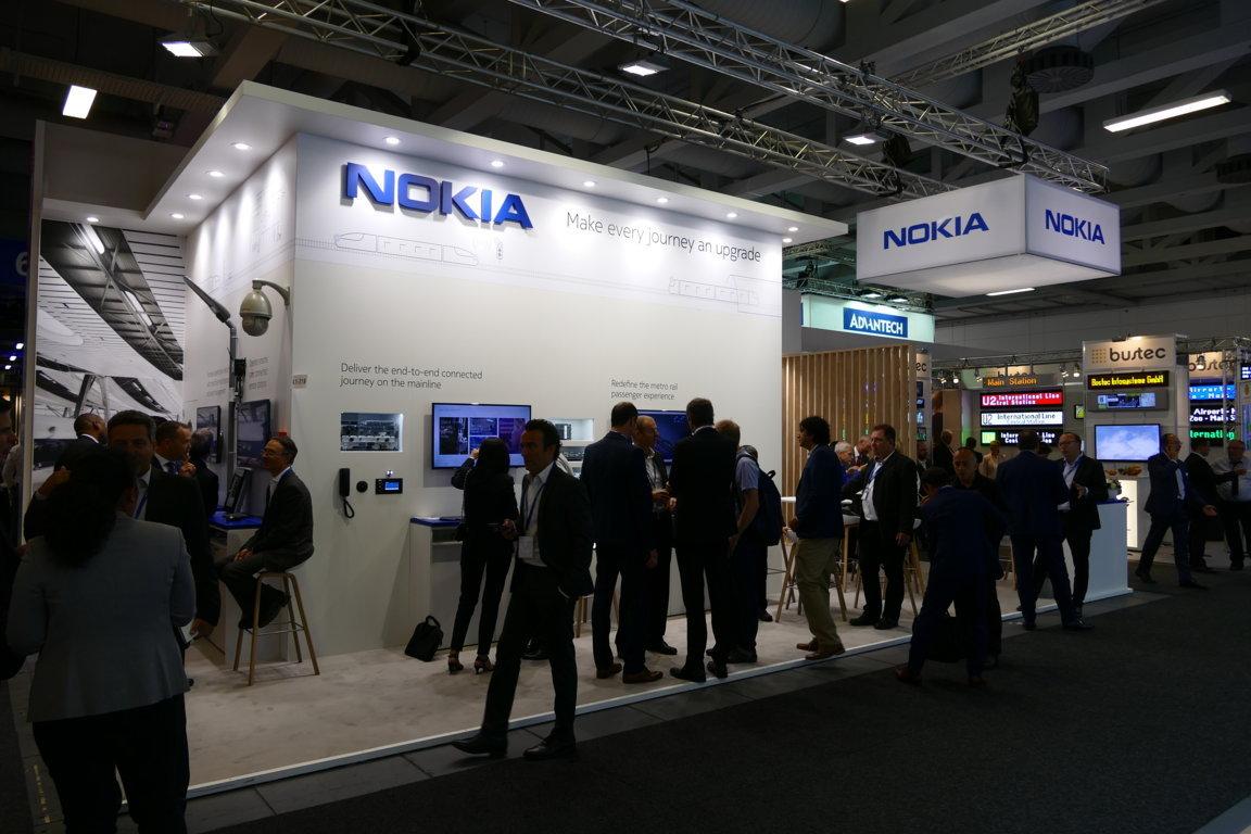 Der Nokia-Stand