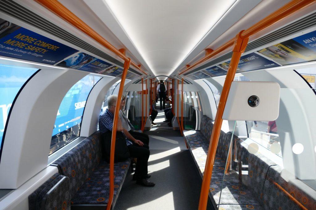 Die neue U-Bahn Glasgow