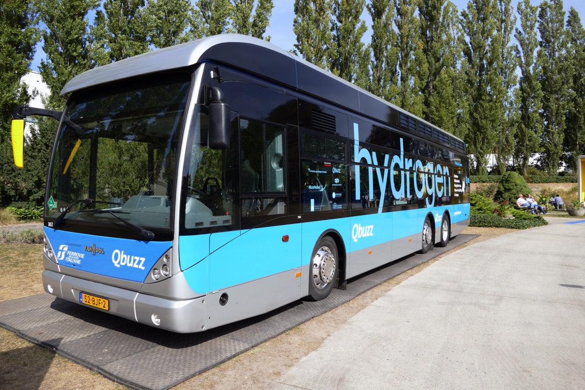 Wasserstoffbus von Busitalia