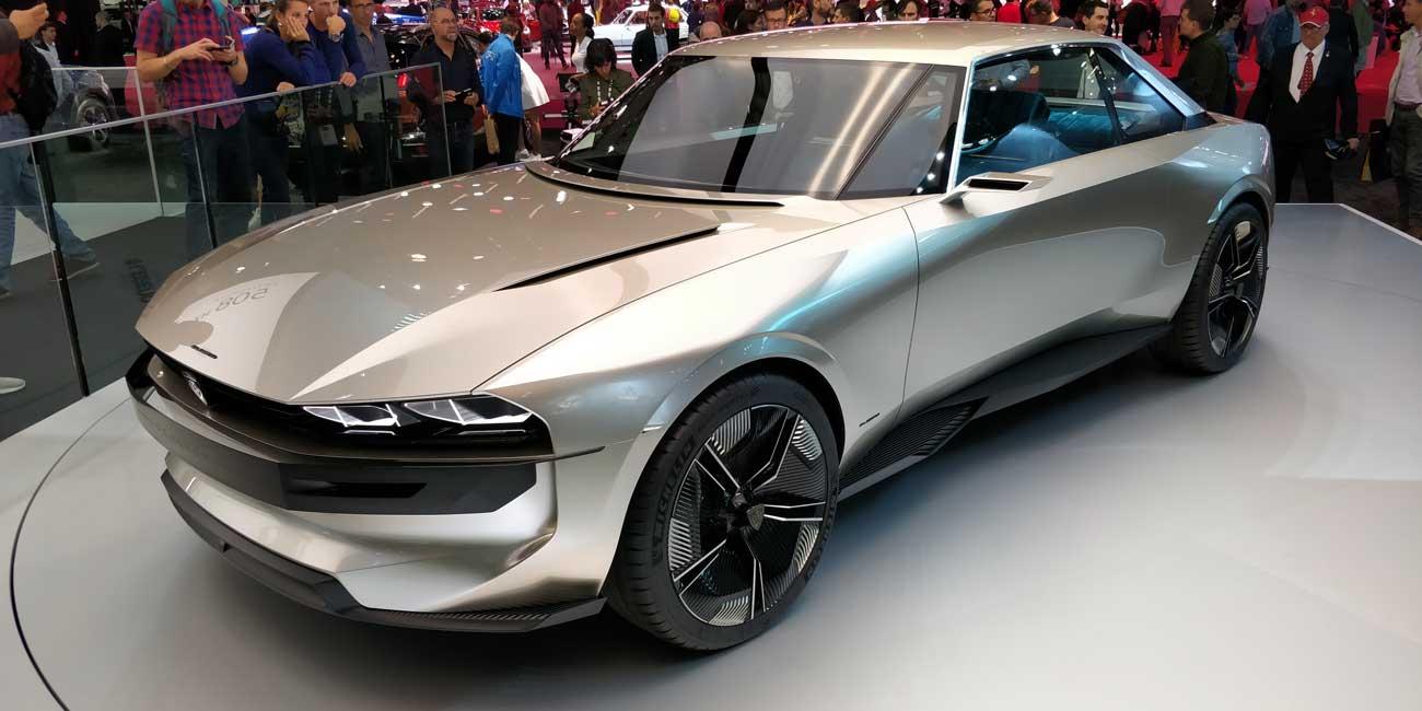 Peugeot E-Legend (Studie)