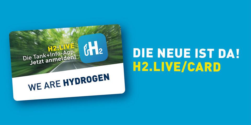 Ab heute gilt nur noch die neue H2-MOBILITY-Tankkarte