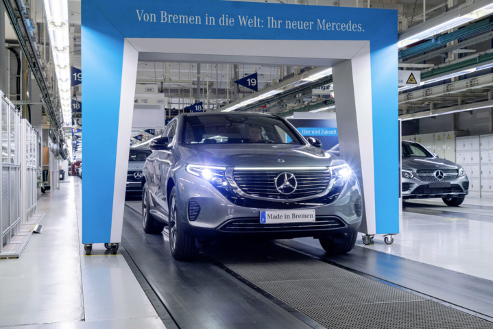 Mercedes-Benz EQC 400 4MATIC wird nun produziert – mit Schwierigkeiten