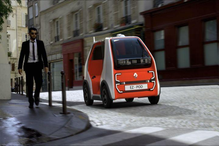 Renault EZ-POD — Der autonome Twizy