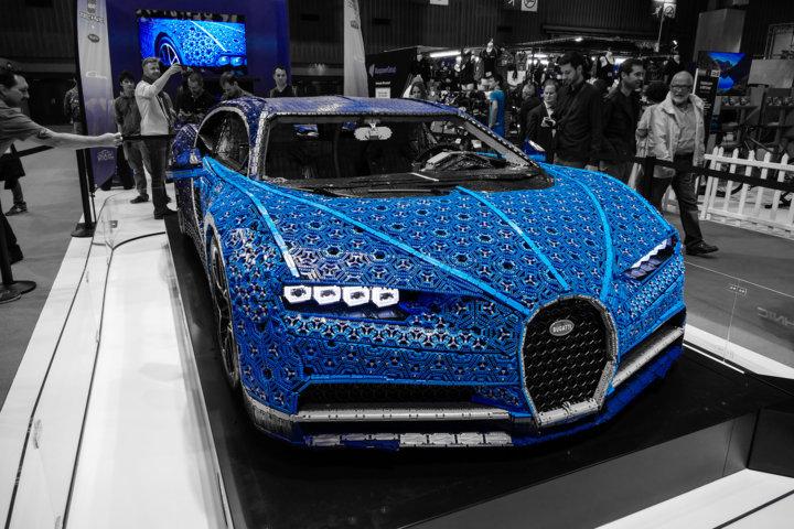 LEGO Bugatti Chiron — Der erste elektrische Bugatti