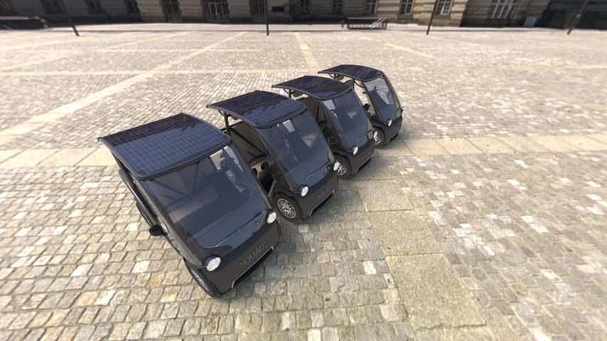 Squad Mobility bringt das Squad – Ein Golfcar für den urbanen Straßenverkehr